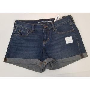 Old Navy Boyfriend Jeans Shorts,  2 NWT